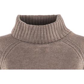 Icebreaker Waypoint Roll Neck Sweater Damen toast heather